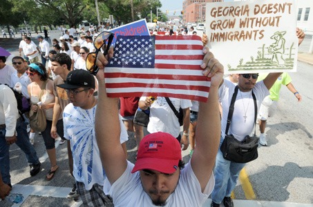 Court bars much of Georgia and Alabama anti-immigrant laws