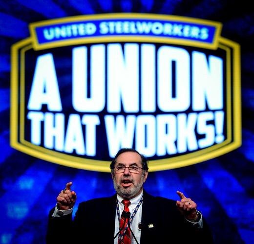 USW rolls out platform, denounces greedy forces out to destroy workers