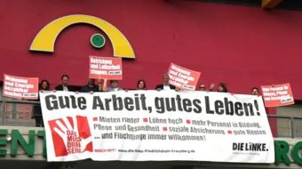 Changing captains in Germany's Left Party
