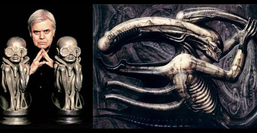 "H.R. Giger, 74: Surrealist artist known for his ""Alien"""