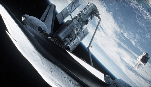 "Great outer space ""Gravity"" and other film pleasures"