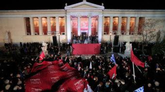 Left victory in Greece breaks new ground