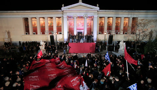 Left victory in Greece breaks new ground