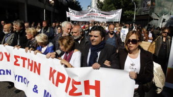 General strike shuts down Greece; demonstrators attacked causing one death