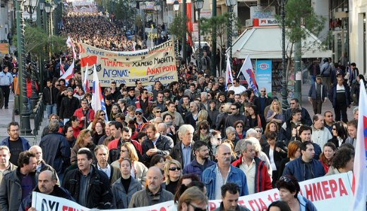 Amidst massive strikes, Greek Parliament votes for austerity