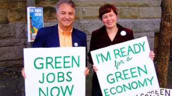 Steelworkers president talks up green jobs
