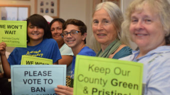 Alameda County bans fracking
