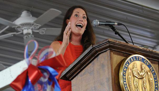 Government workers back Grimes in Kentucky Senate race
