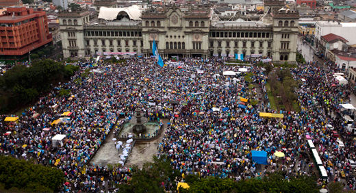 Corruption scandals roil Guatemala and Honduras