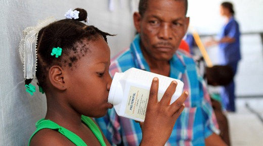 Cuba saves lives in cholera-stricken Haiti
