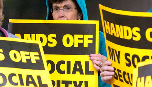 GOP Congress aims dagger at Social Security
