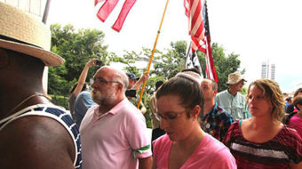 Jailed for justice at July 8th's Moral Monday