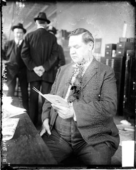 Today in labor history: Big Bill Haywood tried for murder