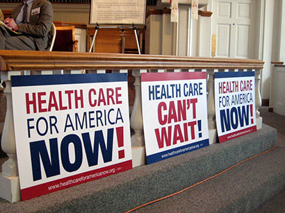 Action for health care grows