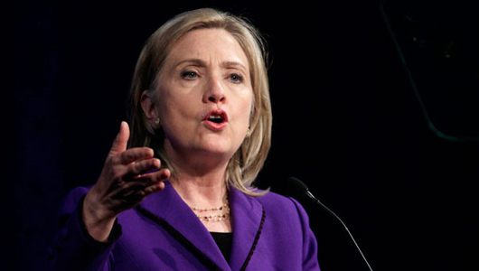 Hillary Clinton pledges to push Employee Free Choice