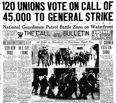 Today in labor history: San Francisco General Strike