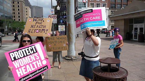 Michigan Rep. challenged for stance on health reform