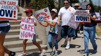 Three unions call for Obamacare redo