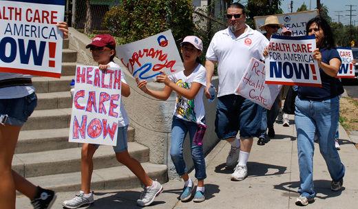 Three unions call for Obamacare redo