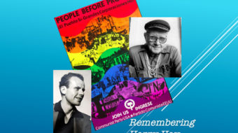 In the vanguard for gay liberation: The life of Communist organizer Harry Hay
