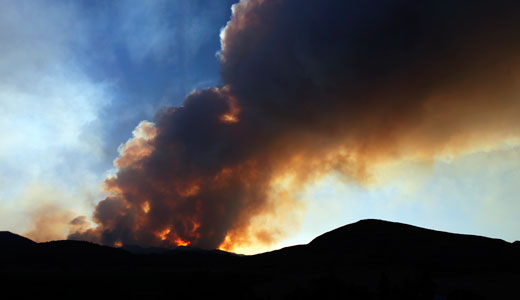 Heat wave, fires driven by climate change, scientists say
