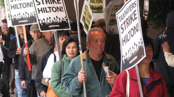 Hilton workers win 18-month battle