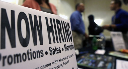 Does December jobs report mean recovery?
