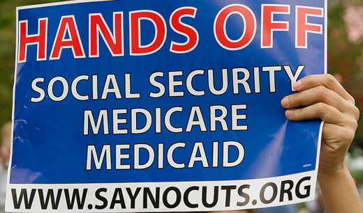 Trumka warns Dems: stick by Social Security, Medicare