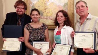 Illinois Woman's Press Association honors People's World writers