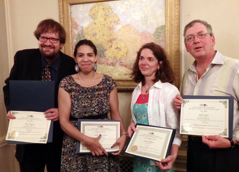 Illinois Woman's Press Association honors People's World writers
