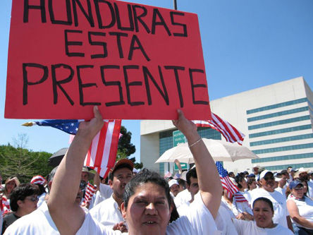 Resistance goes on as Honduras approaches turnover
