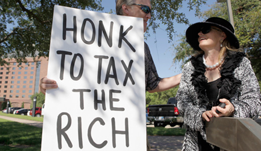 Tax wealth not work!