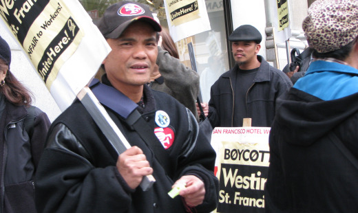 San Francisco hotel workers hold two-day 'siege'