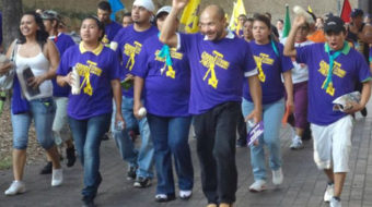 Houston church, NAACP support striking janitors