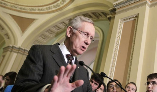 "Reid, with labor's support, moves toward ""nuclear option"" in Senate"