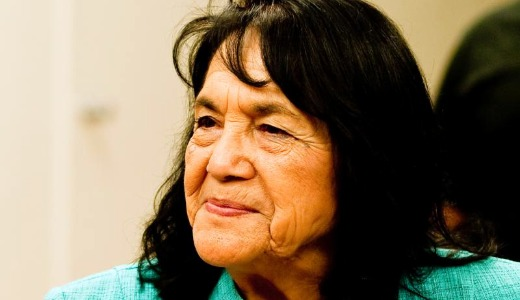 Dolores Huerta joins fast for DREAM Act