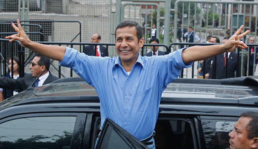 Peru's left candidate Humala wins presidency by a nose