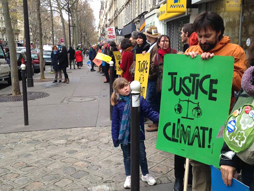 Posts from Paris: Unions act on climate change