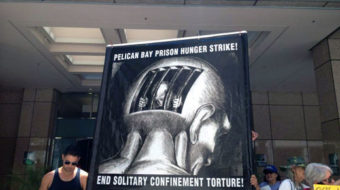 California inmates go on hunger strike (audio)