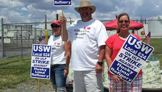 "Ohio refinery strikers: ""We're fighting for families"""