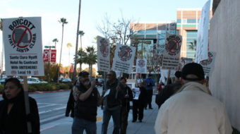 San Jose marches to demand Hyatt give workers a voice