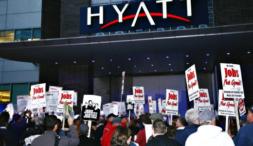 Hyatt to pay $1 million to fired Boston workers