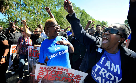Troy Davis is laid to rest