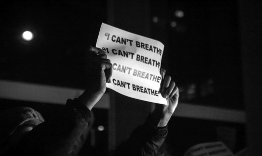 """I can't breathe"" march on Washington to protest police killings"