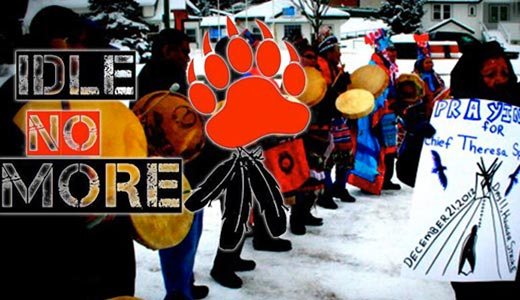 Idle No More: Native movement sweeps Canada and U.S.