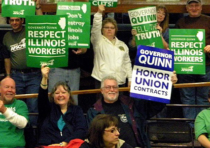 Unions to focus on dumping GOP governors