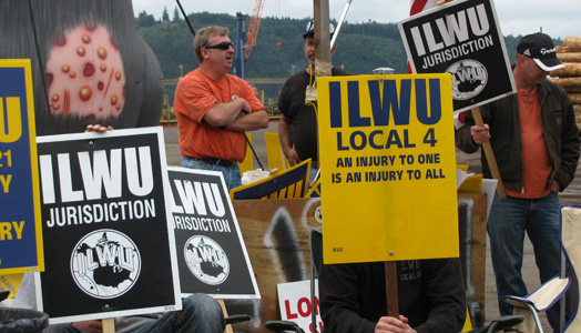 Standoff at grain terminals: workers on the job without contract