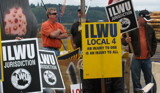 West Coast dock workers battling push to gut ILWU