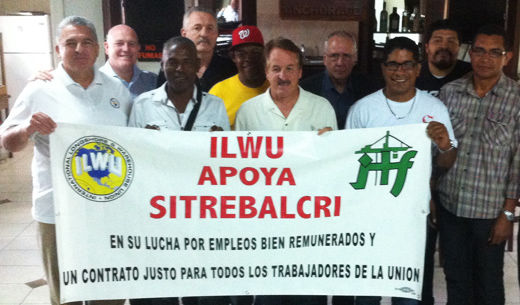 To raise wages in Panama, dockers join a U.S. union