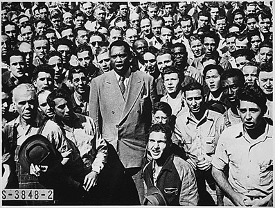 Today in labor history: Paul Robeson loses passport appeal